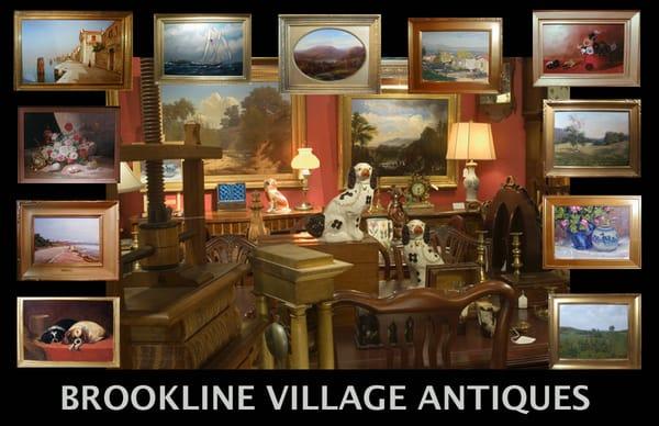 Photo of Brookline Village Antiques Inc - Boston, MA, United States - Brookline Village Antiques Inc - Antiques - 1 Design Center Pl