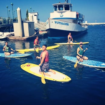 Photo Of Fast Kayak Redondo Beach Ca United States Paddle Boarding With