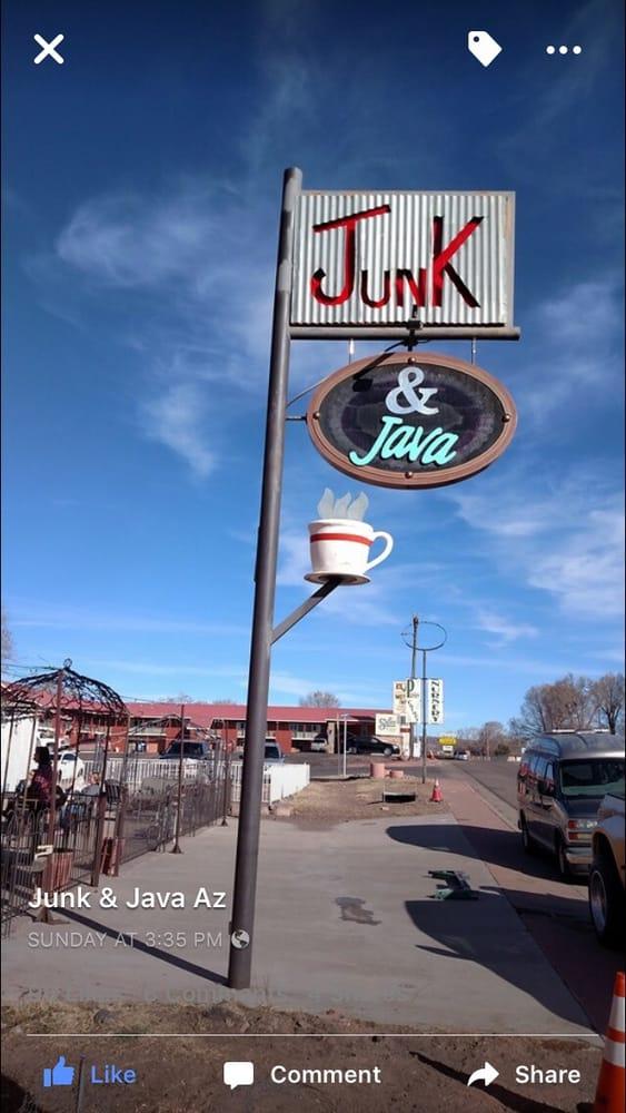 Junk & Java: 341 E Main St, Springerville, AZ