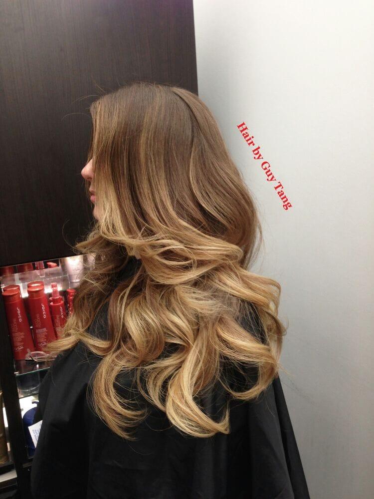 Light Ash Brown Hair Ombre