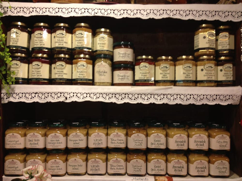 Stonewall Kitchen And Robert Rothschild Mustards Jams And Much More
