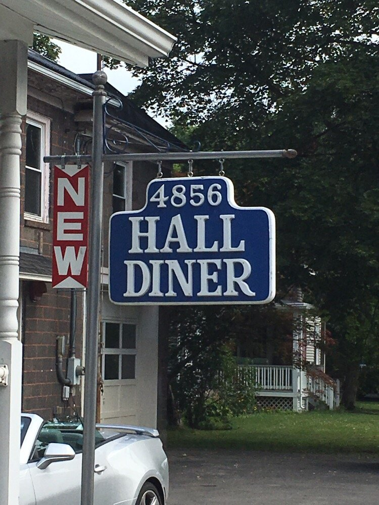 New Hall Diner: 4856 Main St, Hall, NY