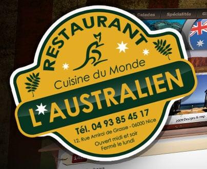 L australien chiuso cucina australiana 12 rue amiral for Cucina australiana