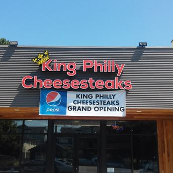 King Philly Cheesesteaks - Order Food Online - 85 Photos