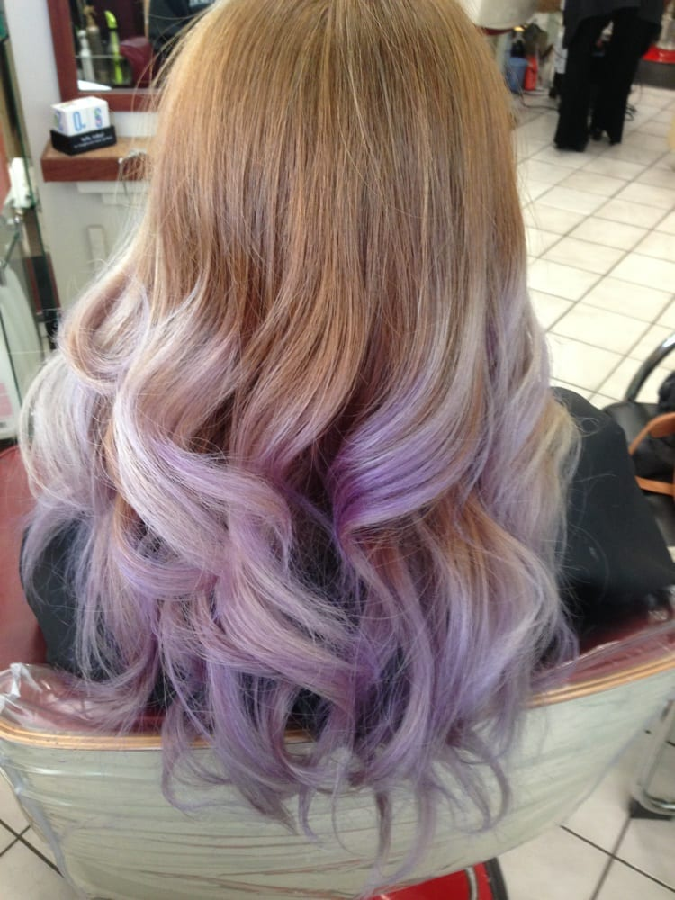 Lavender ombré - Yelp