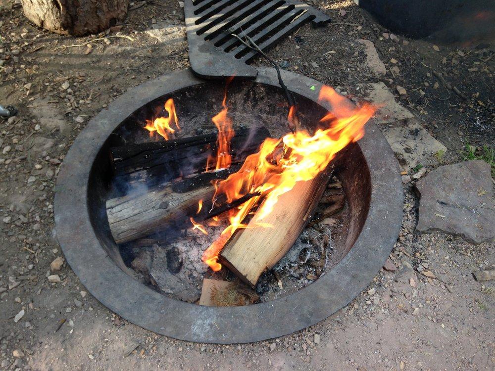 Paris Springs Campground: Forest Rd 427, Preston, ID