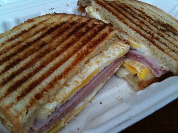 ham, egg & cheese panini - Yelp