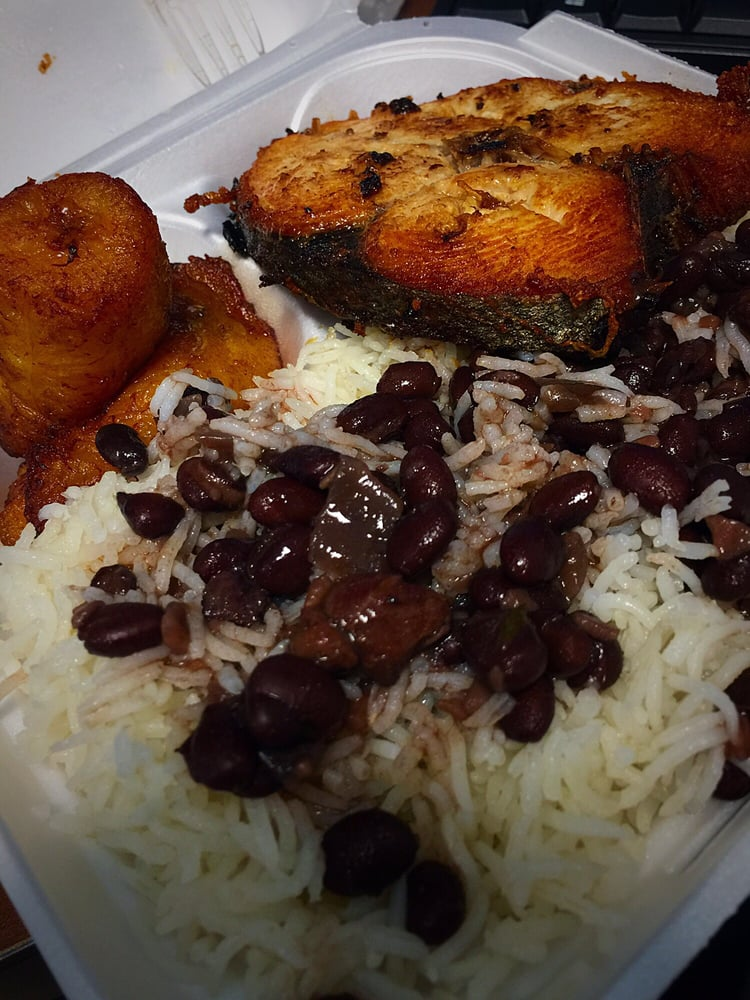 So good king fish rice and beans plantains yelp for King fish louisville