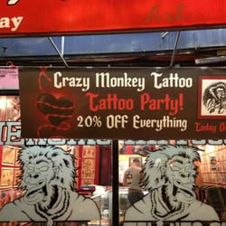 Crazy monkey tattoo 15 photos 11 reviews tattoo for Tattoo shop brooklyn