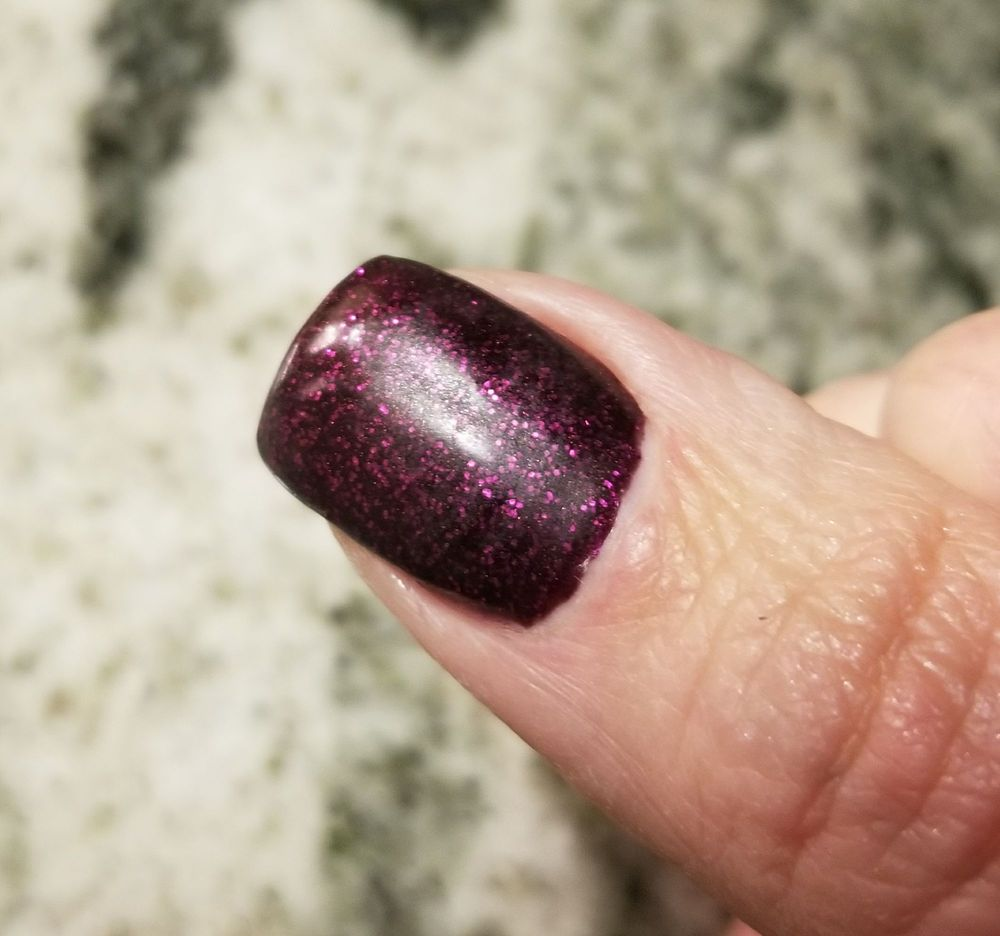 Not sure what happened with my thumb, but there\'s no shine just ...
