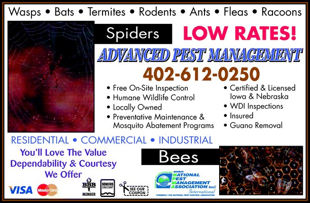 Advanced Pest Management: 141 E View Dr, Council Bluffs, IA