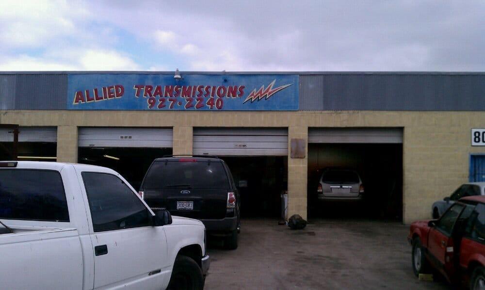 Allied Transmission Service Transmission Repair 2407 W