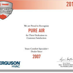Pure Air - 75 Photos & 52 Reviews - Heating & Air Conditioning/HVAC