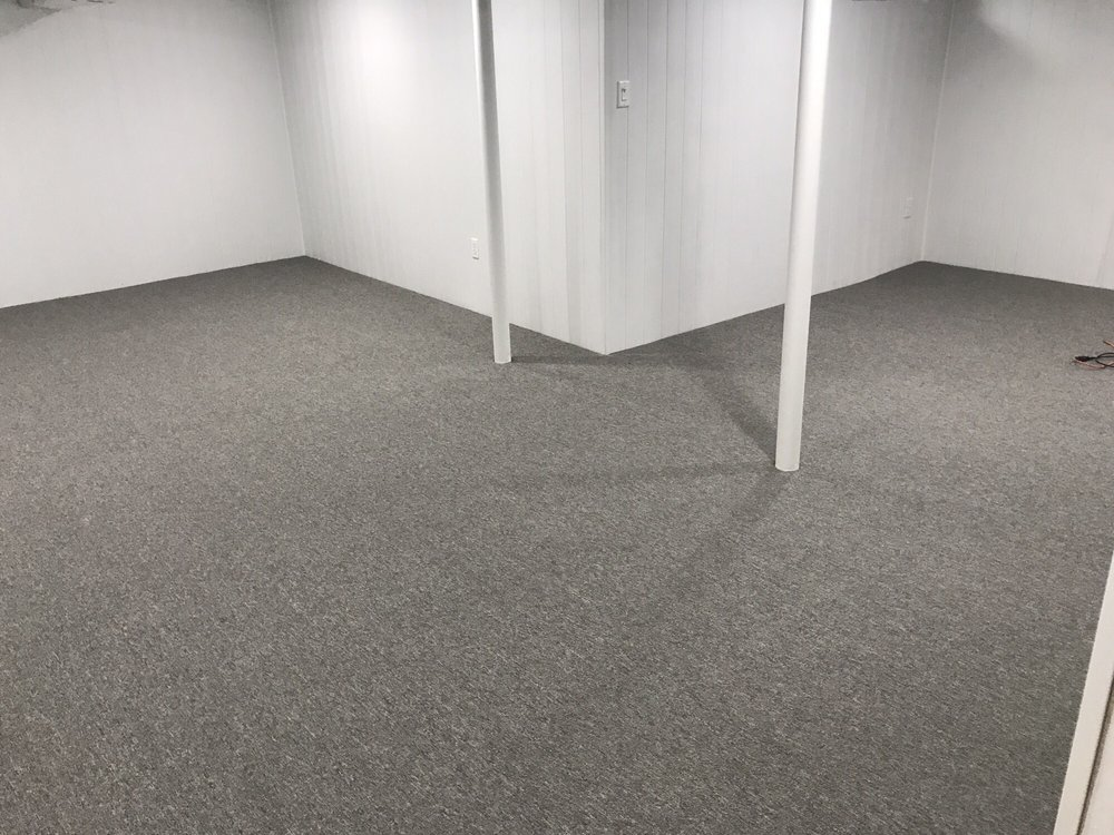 Help Insulate Your Basement Floor With A Thick Pad Carpet Yelp