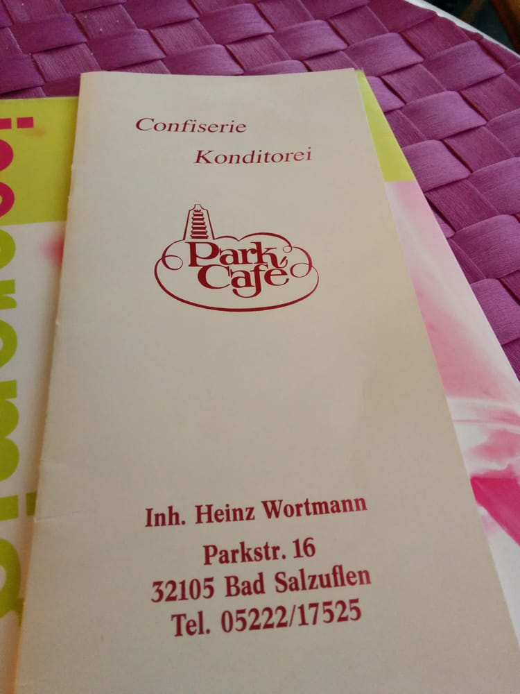 Park Cafe Bad Salzuflen