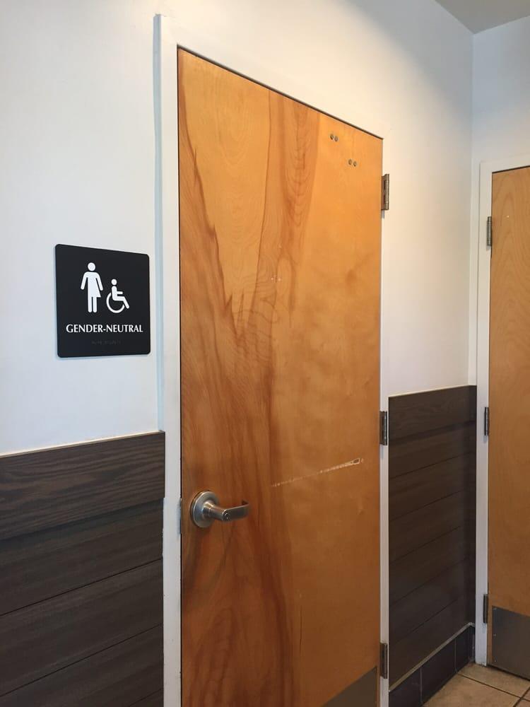 Gender Neutral Restrooms. Fair Warning.