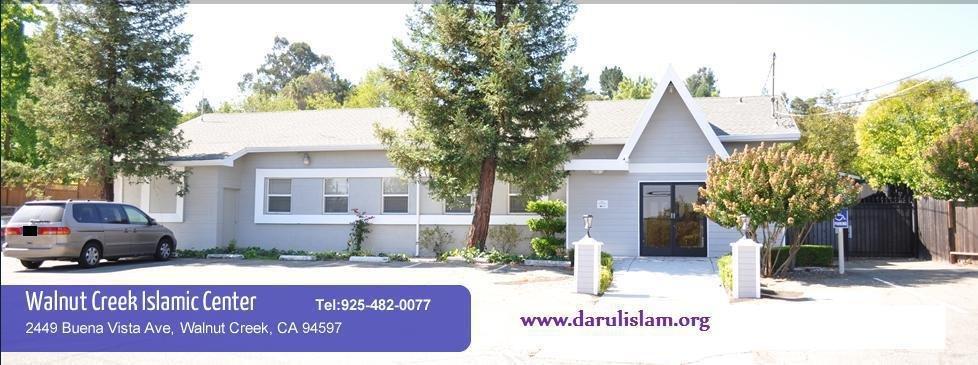 Darulislam Masjid: 2449 Buena Vista Ave, Walnut Creek, CA