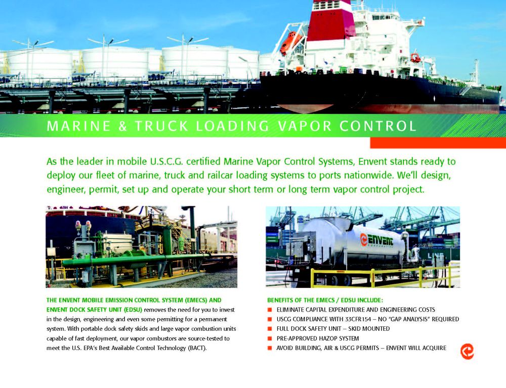 Marine Vapor Control System Mobile Services @MarineVaporControls