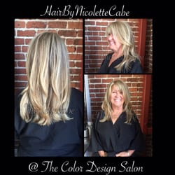 Photo of The Color Design Salon - San Francisco, CA, United States. Haircut and blow out by Nicolette Cabe