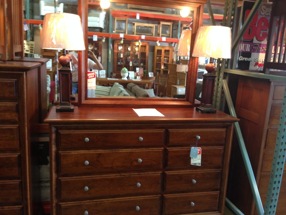 Very nice looking dresser with the next picture showing tongue