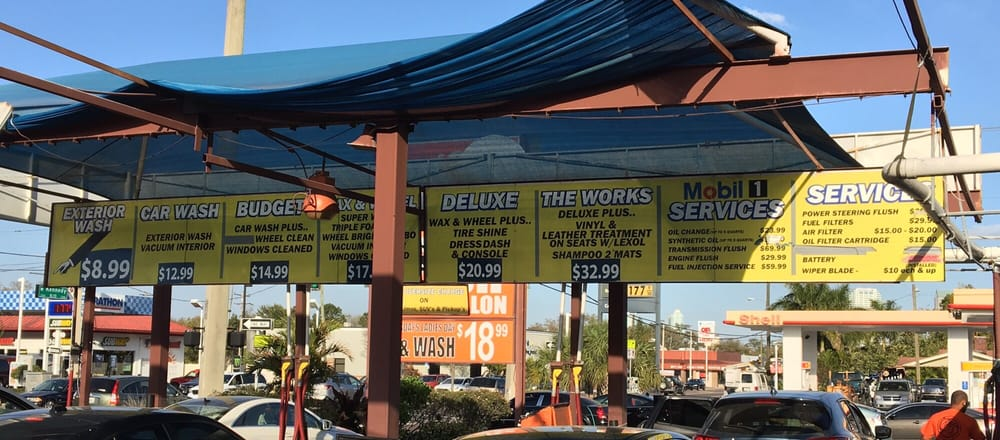 Prestige Car Wash and Lube: 2306 W Kennedy Blvd, Tampa, FL