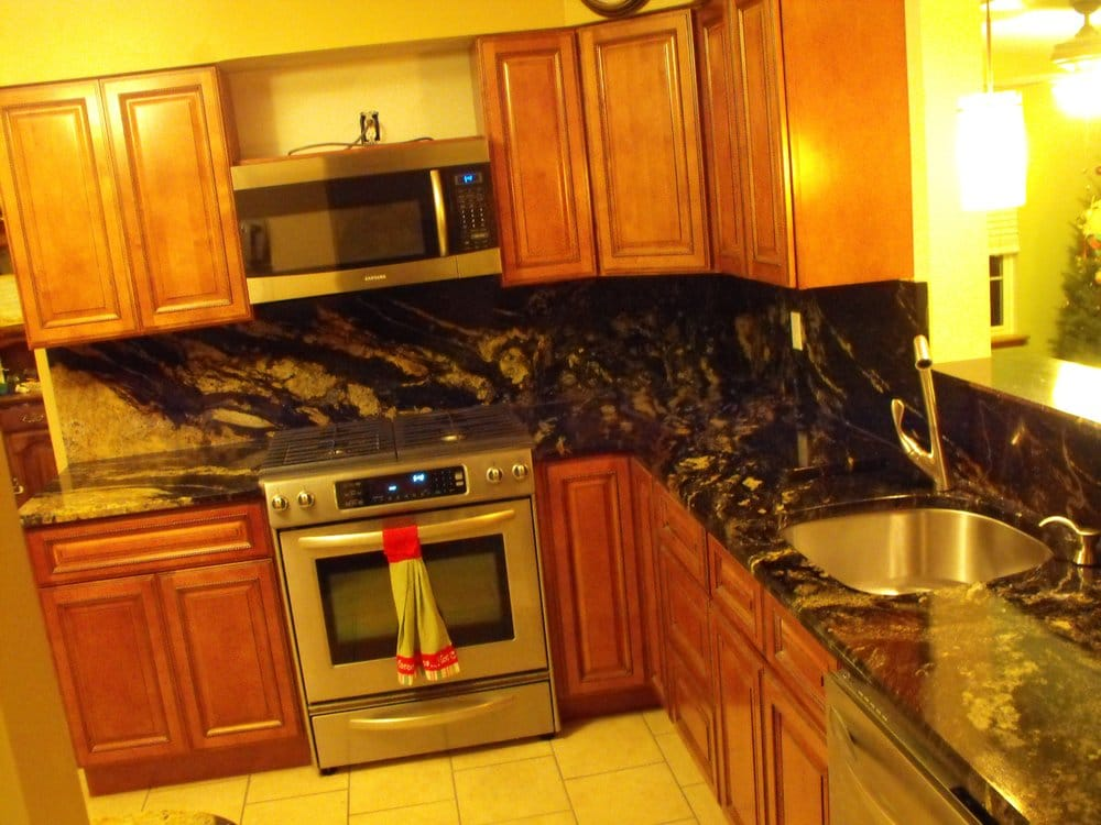 Kitchen Cabinets And Counter Tops In Granite Spectrus Yelp