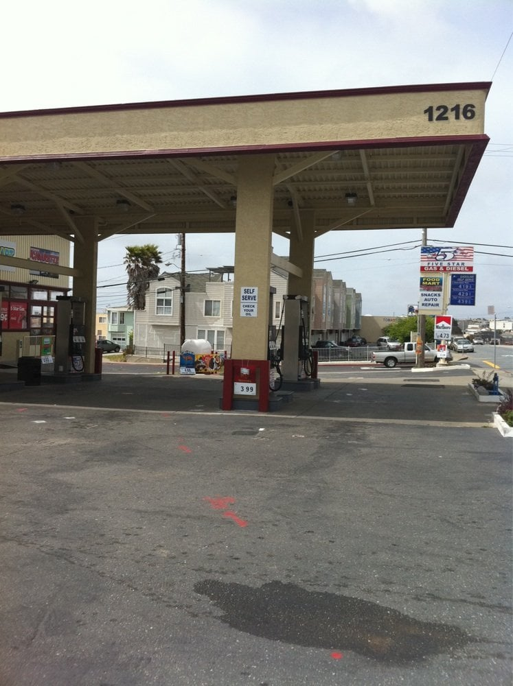Diesel Gas Stations Near Me >> 5 Star Gas & Diesel - Gas Stations - 1216 Hillside Blvd, Daly City, CA, United States - Phone ...