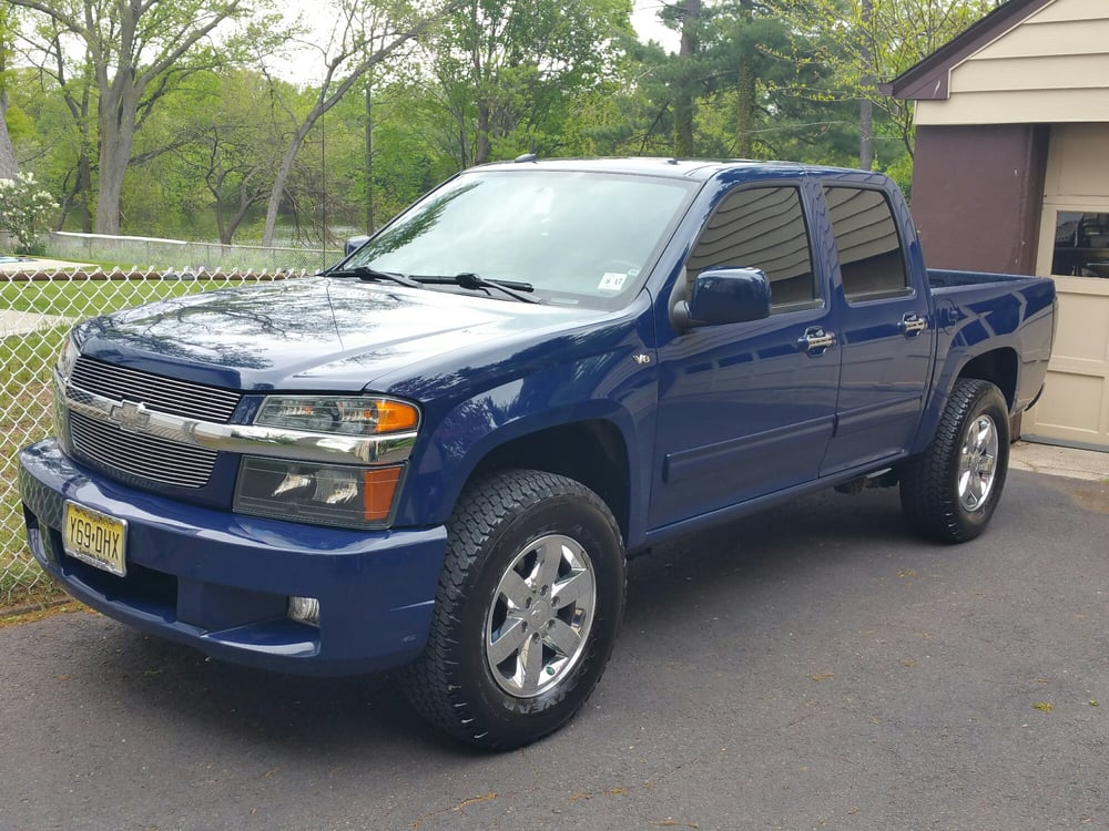 2012 chevy colorado platinum detail and tinted front windows yelp. Black Bedroom Furniture Sets. Home Design Ideas