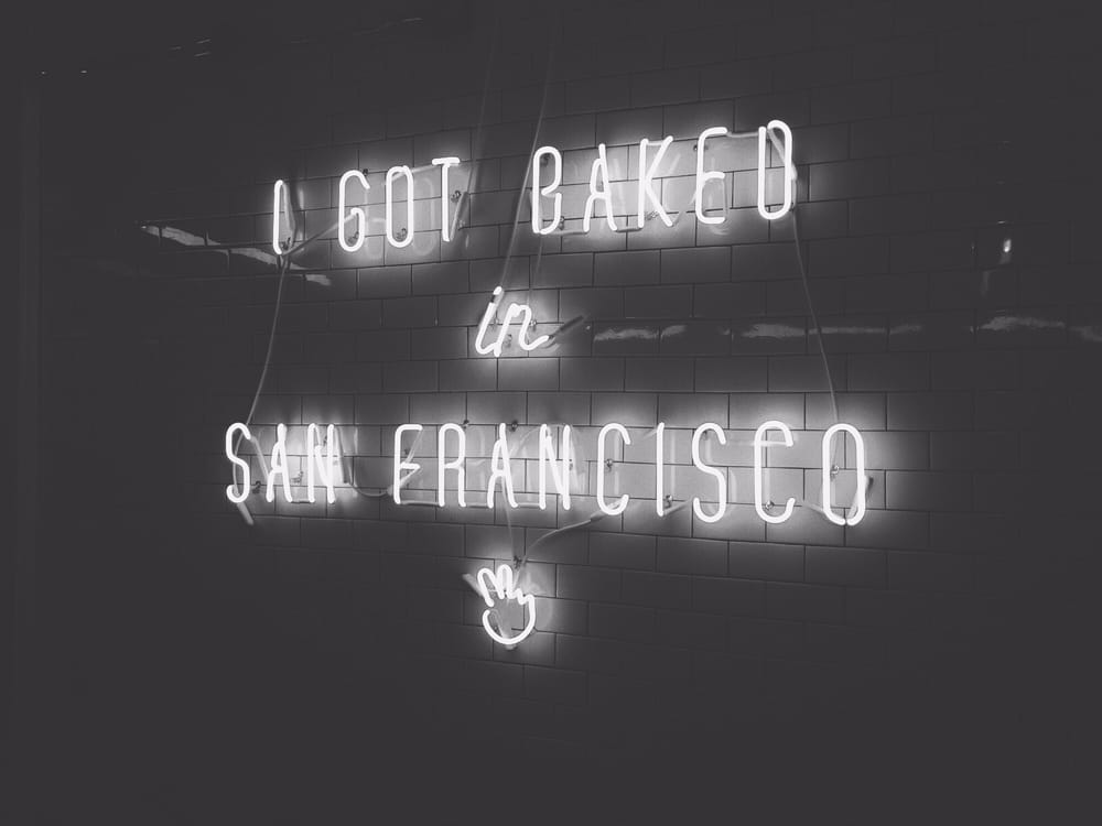 Photo of Mr Holmes Bakehouse - San Francisco, CA, United States. Infamous sign at Mr. Holmes Bakehouse.