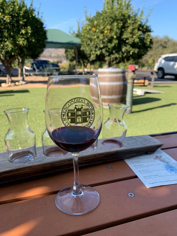 Belle Marie Winery: 26312 Mesa Rock Rd, Escondido, CA