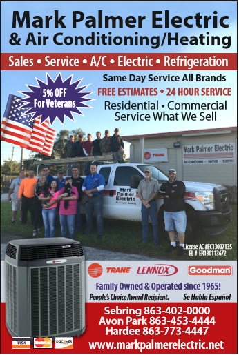 Mark Palmer Electric And Air Conditioning: 5232 US Highway 27 N, Sebring, FL