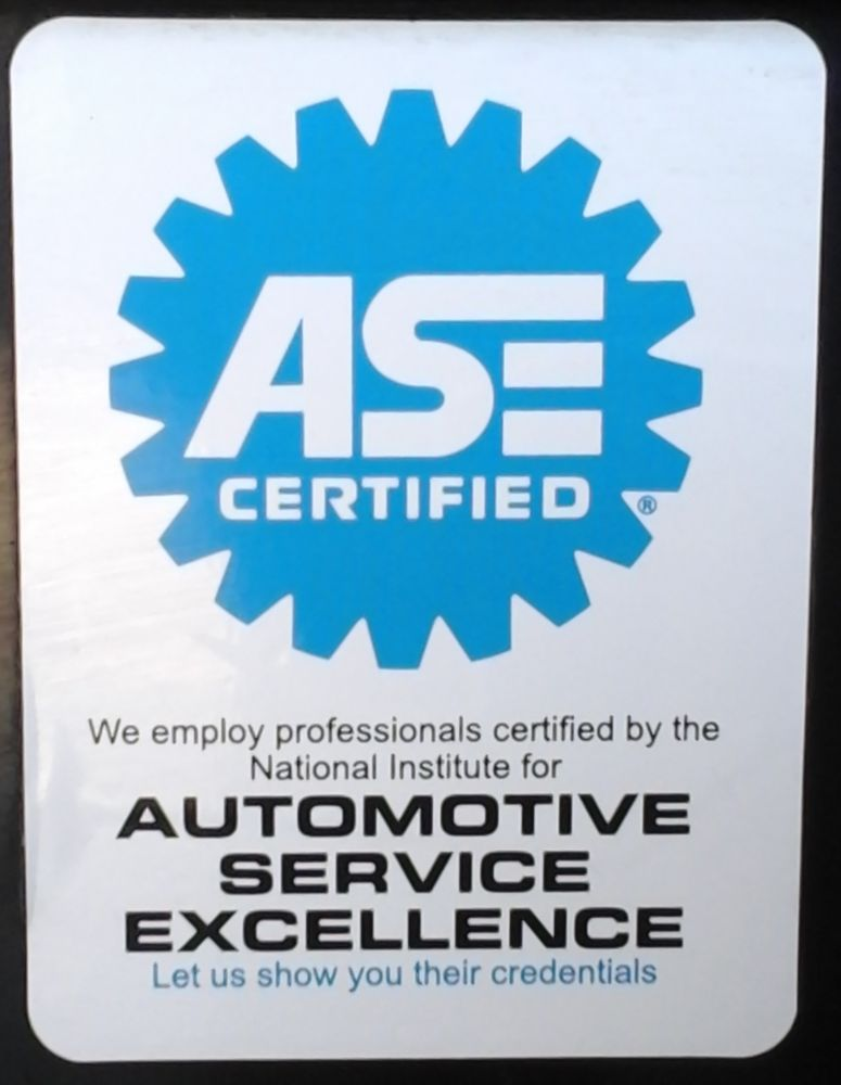 ASE Certified Master Technician always on site Yelp