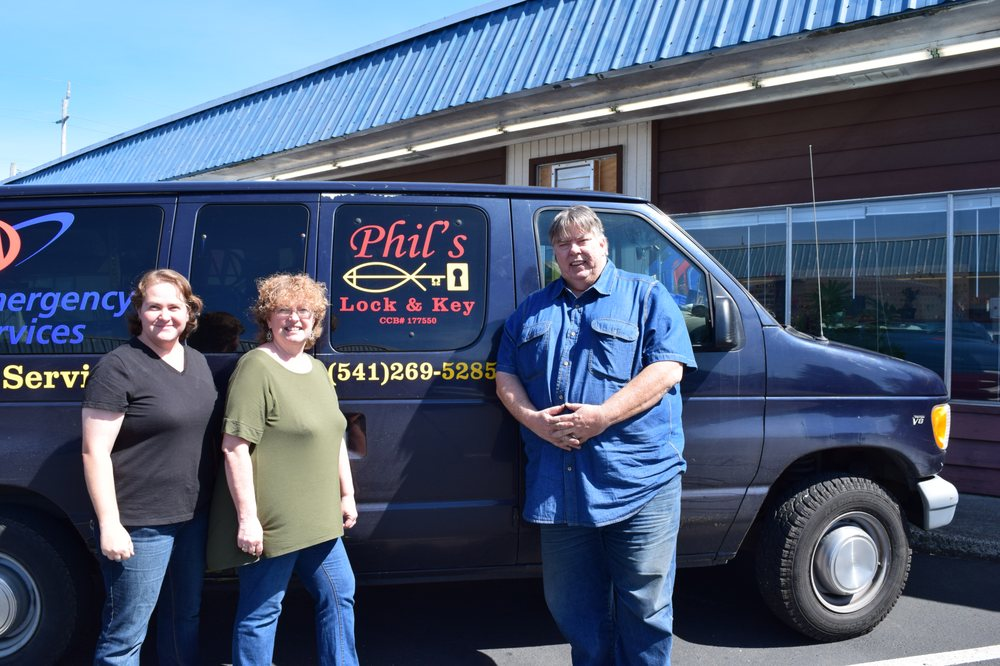 Phil's Lock & Key: 1165 Newmark Ave, Coos Bay, OR