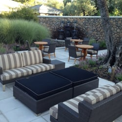 Photo Of Spa Acqua   Yountville, CA, United States. Great Patio Area