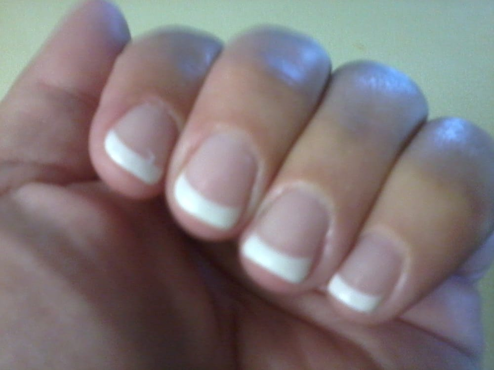 Gel manicure on natural nails - Yelp