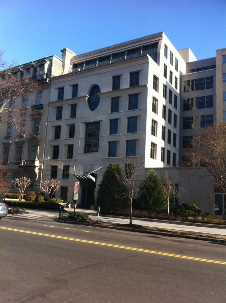 Carnegie Endowment For International Peace: 1779 Massashusetta Ave NW, Washington, DC, DC