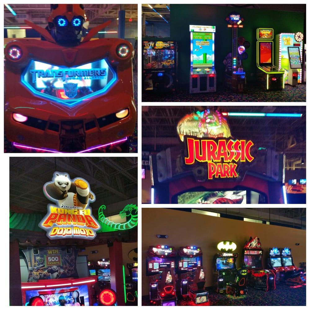 Arcade Collage Transformers Kung Fu Panda Flappy Bird