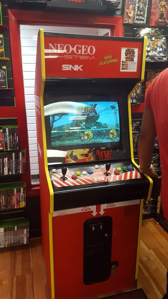 Neo Geo cabinet running Metal Slug X for 25 cents. Neo Geo games ...