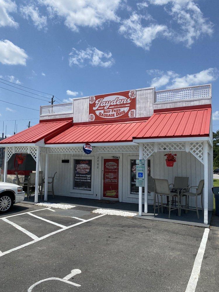 Jaydens Beef Fried Sasage Dogs: 2700 Trent Blvd, New Bern, NC