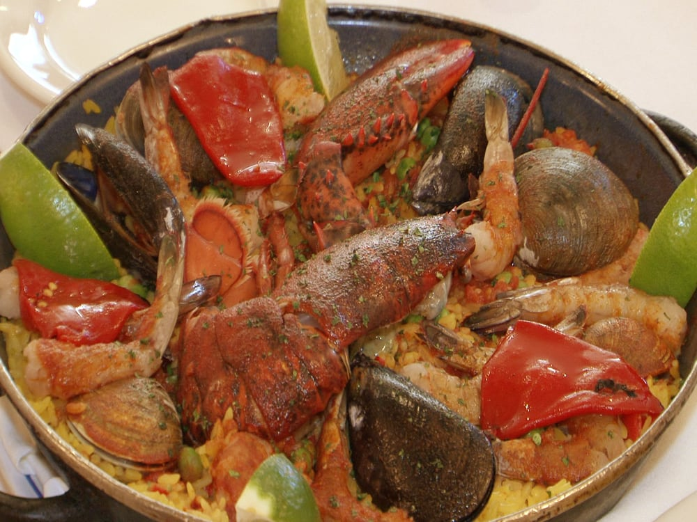 Photo of Marbella Restaurant - Bayside, NY, United States. Seafood Paella