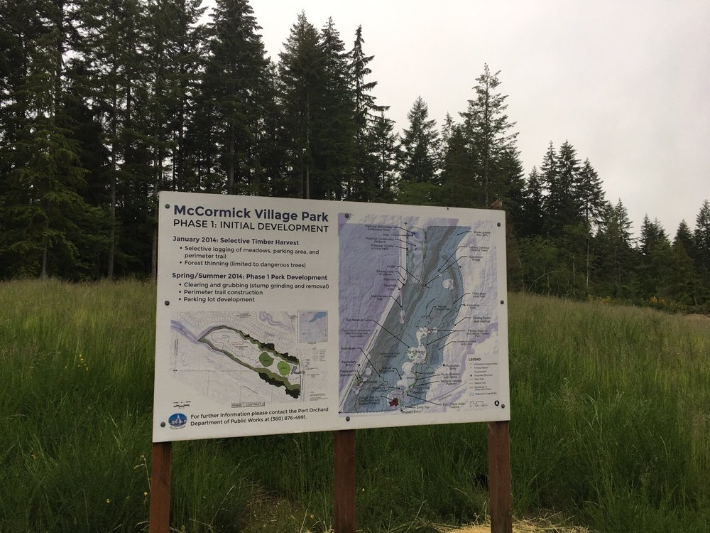 McCormick Village Park: 2628 SW Old Clifton Rd, Port Orchard, WA