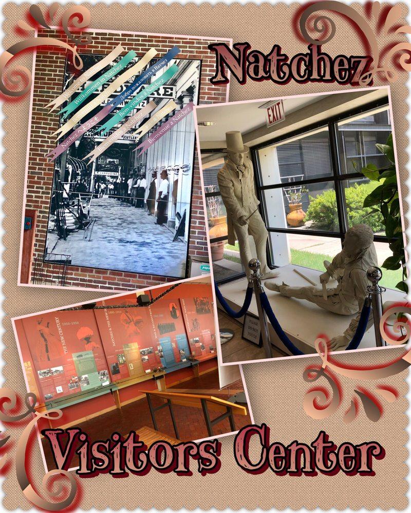 Natchez Visitor Center: 640 South Canal St, Natchez, MS