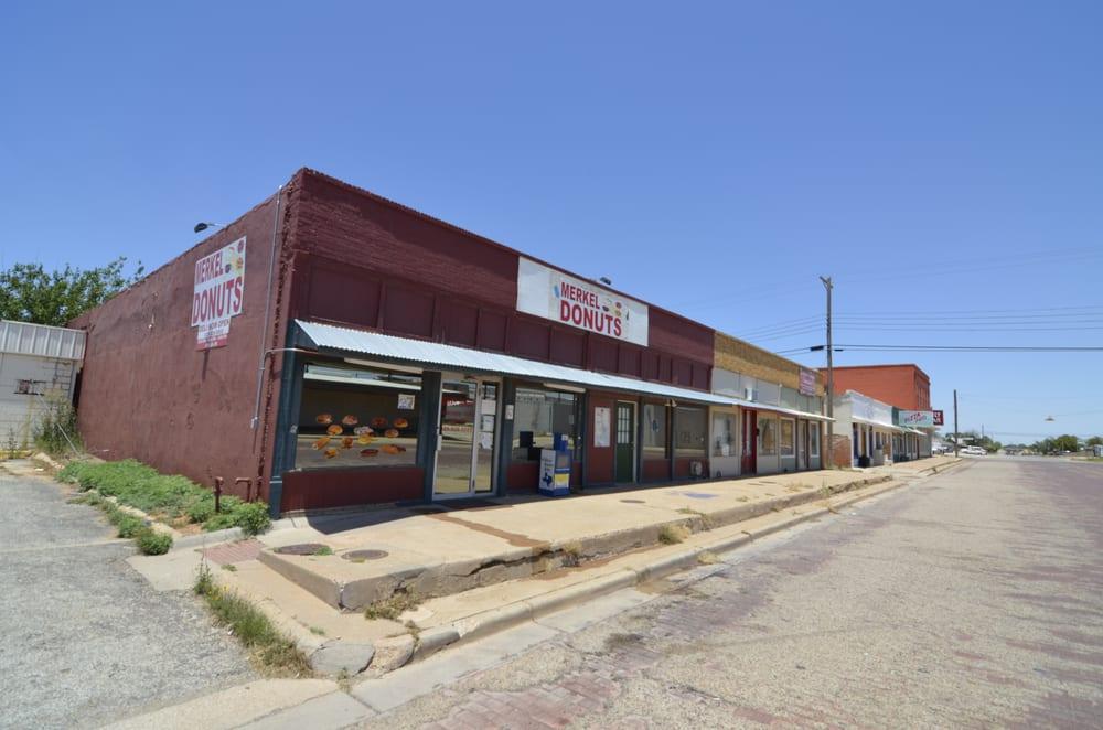 Merkel Donut Shop: 105 Kent, Merkel, TX