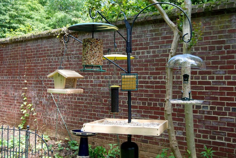 Poles and hardware for all your backyard bird set ups. - Yelp