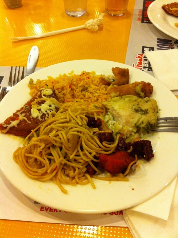 Noodles fish pork rice eggplant parmesan yelp for Fish buffet near me