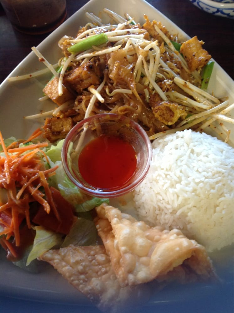 Pad thai lunch special yelp for At siam thai cuisine