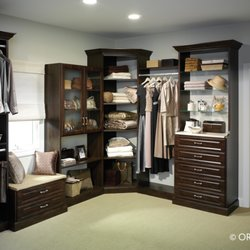 Delightful Photo Of Closet Transformations   Sebastopol, CA, United States. Dark Closet  With Bench