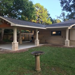 Perfect Photo Of Your Texas Patio   Cypress, TX, United States. Covered Patio  Complete