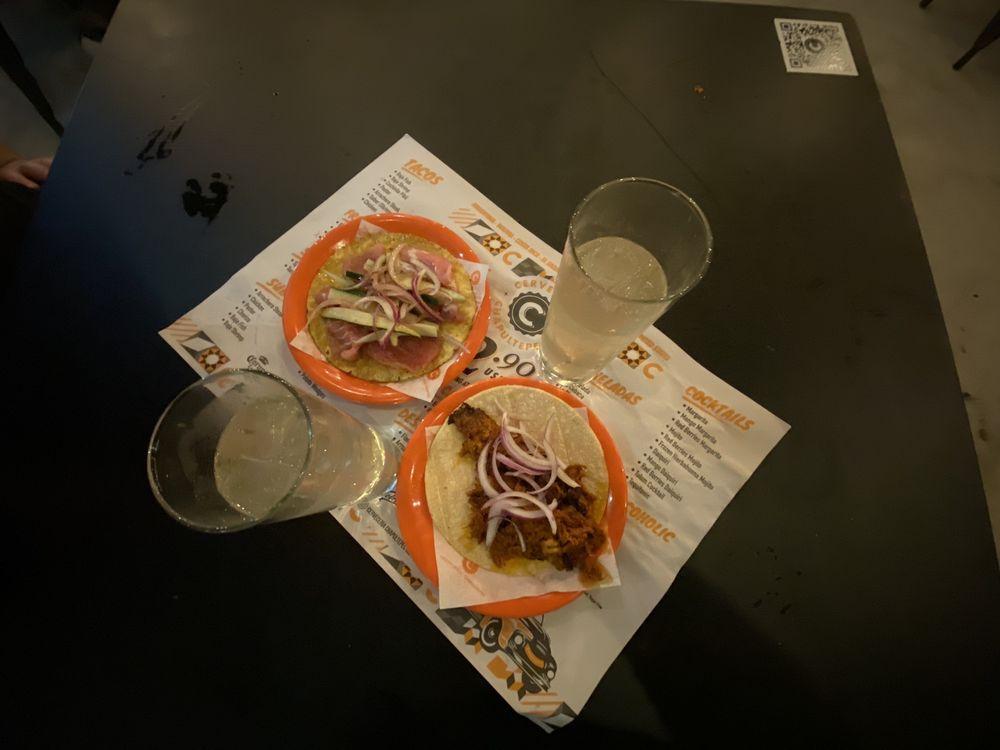 Food from Cervecería Chapultepec