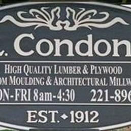 Condon Sons Lumber Co Building Supplies 117 E 25th Ave San